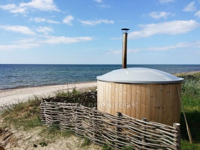 Domki w pobliżu Sventoji 50 metrów od plaży nad Bałtykiem! - 4