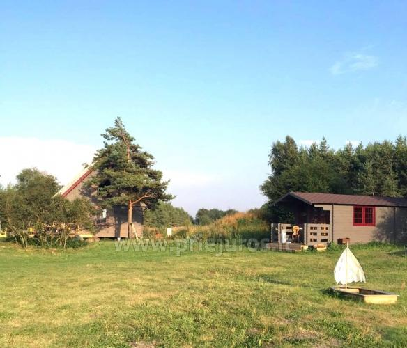Domki w pobliżu Sventoji 50 metrów od plaży nad Bałtykiem! - 9