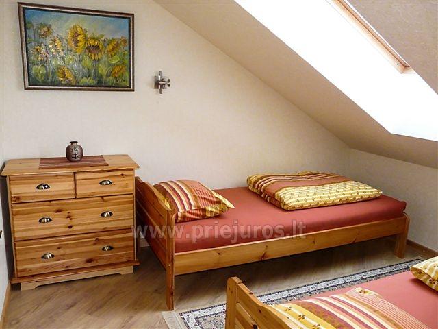Dwupokojowy apartament z kominkiem Gniazdem II do wynajęcia w Nidzie - 6