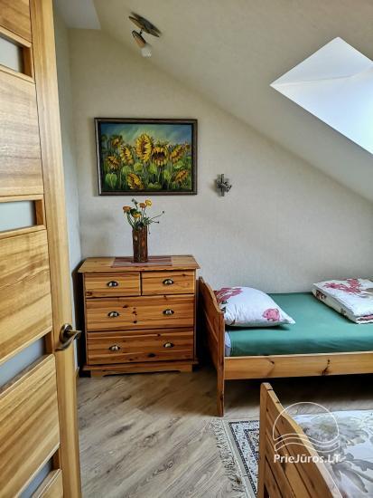 Dwupokojowy apartament z kominkiem Gniazdem II do wynajęcia w Nidzie - 7