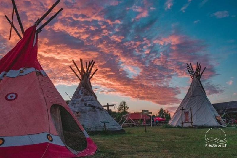 Camping Vinetu kaimas w strefie Klaipėda
