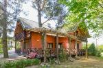 """Gospodarstwo """"Lazdininkų pirtis"""" na święta i wakacje: dom, sala bankietowa, sauna"""