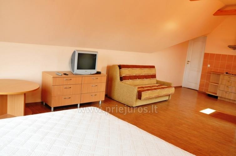 Przestronny apartament dwupokojowy. Spokojna lokalizacja, 10 min. na piechotę do plaży - 6