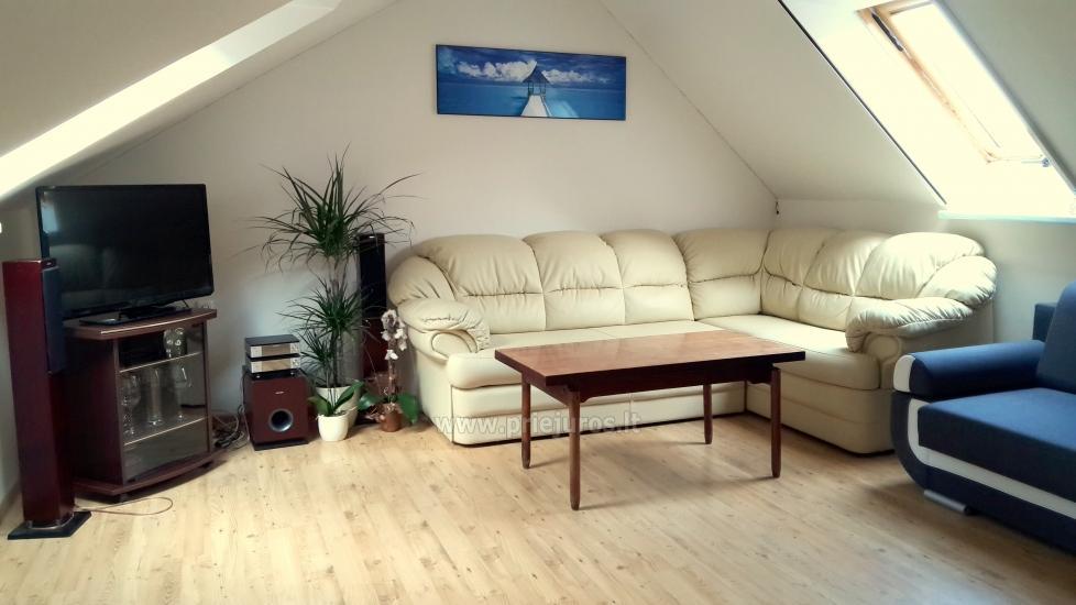 1-2-pokojowe mieszkania do wynajęcia w Juodkrante - 10