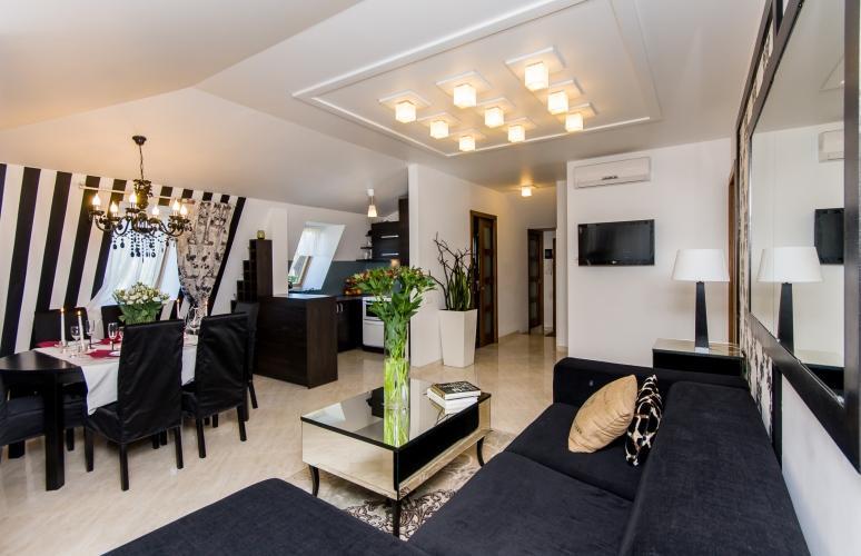 2-pokojowe i 2-pokojowe apartamenty-mieszkania do wynajęcia w centrum Połągi - 10