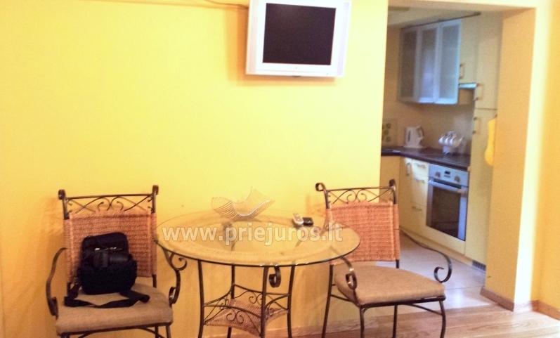 Apartament-mieszkanie z 2 sypialniami w Juodkrante, w pobliżu zalewu - 3