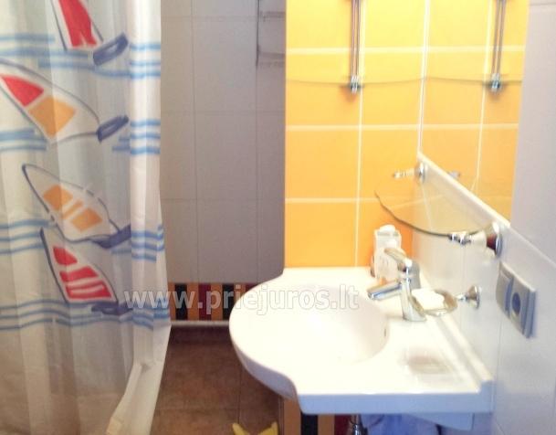 Apartament-mieszkanie z 2 sypialniami w Juodkrante, w pobliżu zalewu - 8