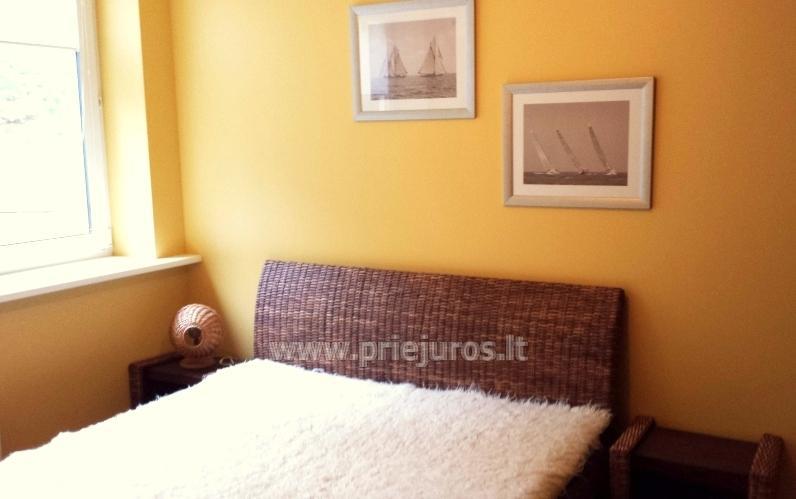 Apartament-mieszkanie z 2 sypialniami w Juodkrante, w pobliżu zalewu - 6