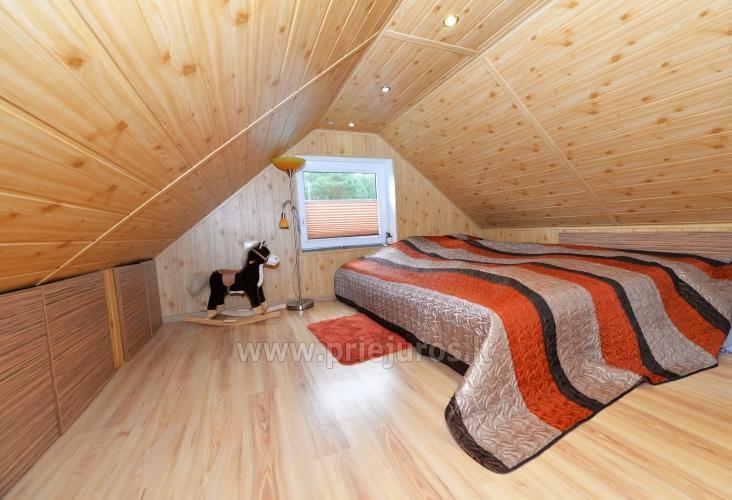 Przytulny drewniany dom do wynajęcia w Smiltynė, w środku sosnowego lasu - 8