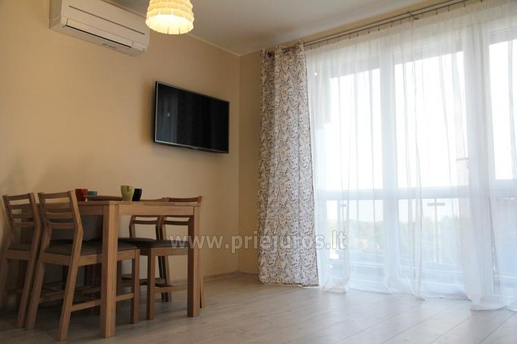 Nowe 2 pokojowe mieszkanie w centrum Nidy z taras, widokiem na lagunę - 3