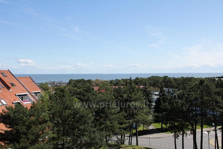 Nowe 2 pokojowe mieszkanie w centrum Nidy z taras, widokiem na lagunę - 12