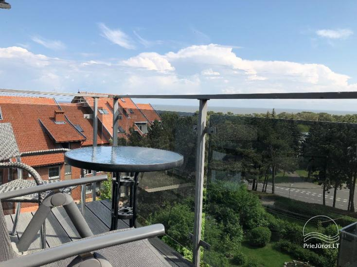 Nowe 2 pokojowe mieszkanie w centrum Nidy z taras, widokiem na lagunę - 4