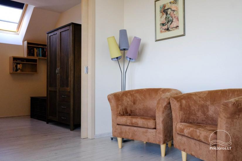 Nowe 2 pokojowe mieszkanie w centrum Nidy z taras, widokiem na lagunę - 11