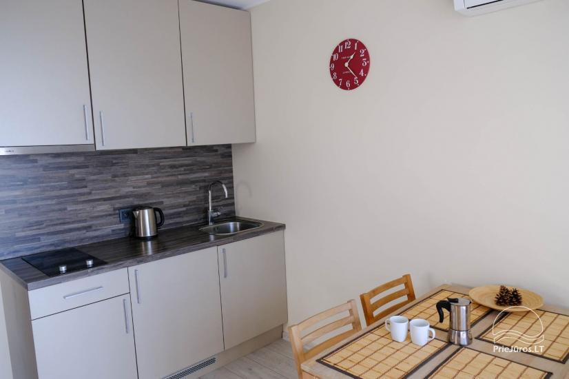 Nowe 2 pokojowe mieszkanie w centrum Nidy z taras, widokiem na lagunę - 5