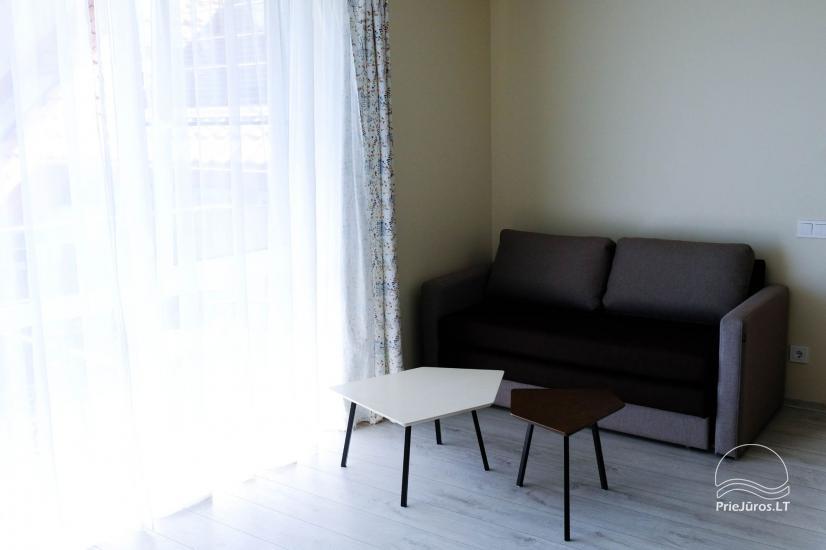 Nowe 2 pokojowe mieszkanie w centrum Nidy z taras, widokiem na lagunę - 10
