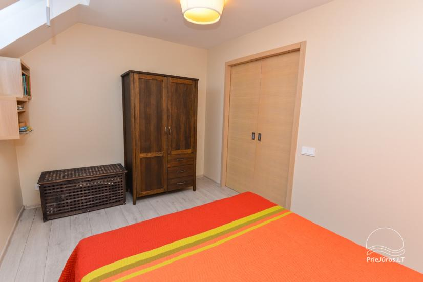 Nowe 2 pokojowe mieszkanie w centrum Nidy z taras, widokiem na lagunę - 9