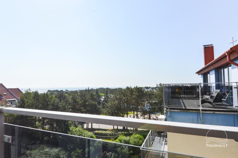 Nowe 2 pokojowe mieszkanie w centrum Nidy z taras, widokiem na lagunę - 2
