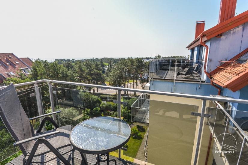Nowe 2 pokojowe mieszkanie w centrum Nidy z taras, widokiem na lagunę - 1