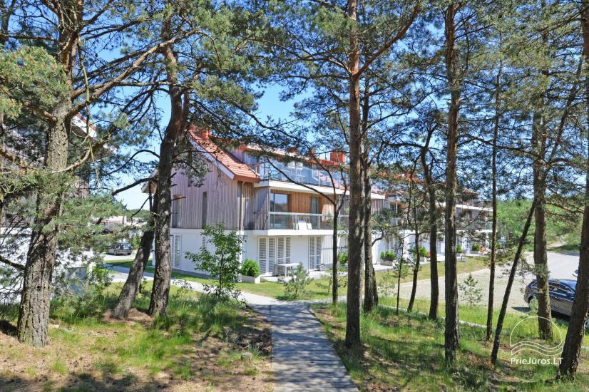Dwa pokoje apartamenty w Nidzie, Mierzeja Kurońska z tarasem, huśtawki - 14