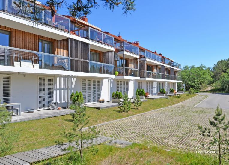 Dwa pokoje apartamenty w Nidzie, Mierzeja Kurońska z tarasem, huśtawki - 10