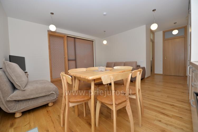 Dwa pokoje apartamenty w Nidzie, Mierzeja Kurońska z tarasem, huśtawki - 4