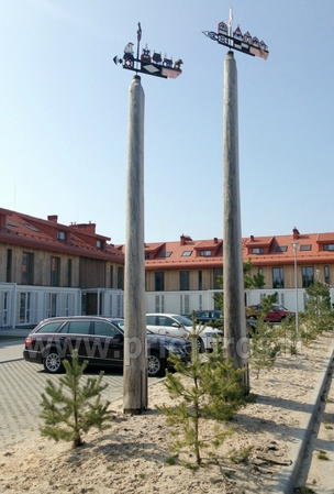 Dwa pokoje apartamenty w Nidzie, Mierzeja Kurońska z tarasem, huśtawki - 13