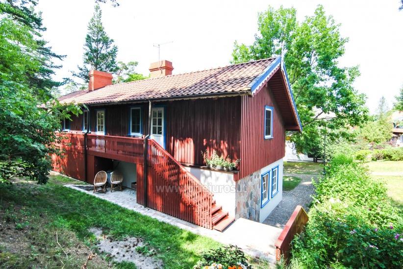 Willa Gėlių Vila - pokoje, apartament do wynajęcia w Nidzie - 6