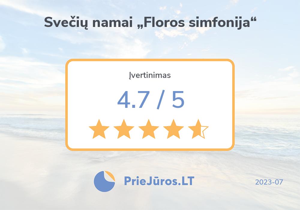 "Opinie wczasowiczów – Svečių namai ""Floros simfonija"""