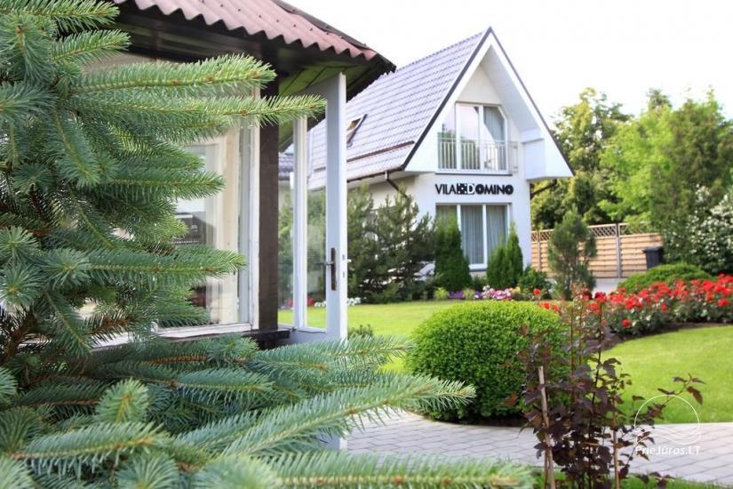 """Pokoje i apartamenty w Połądze w pensjonacie """"VILA DOMINO"""" - 400 m od morza, blisko centrum - 4"""