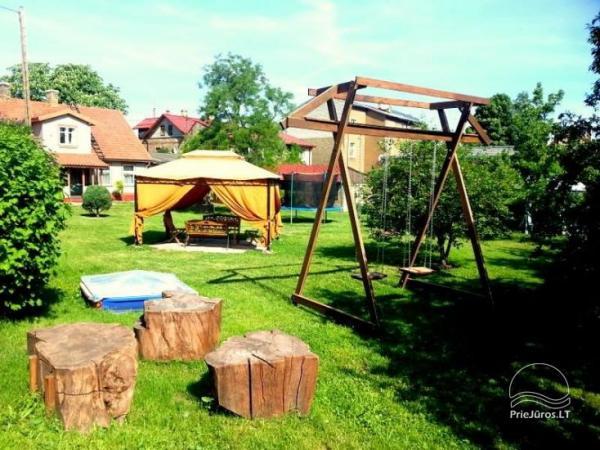 13 pokoje przytulne apartamenty blisko morza, w centrum Ventspils
