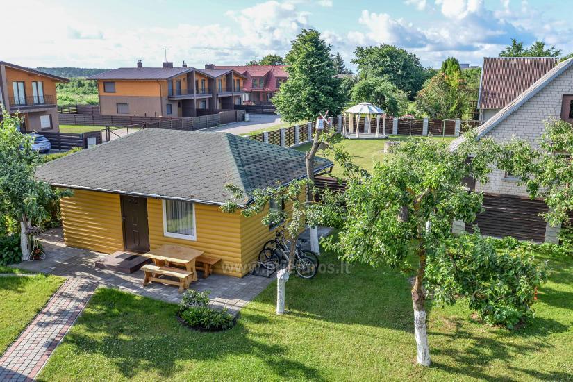 Domki i pokoje w gospodarstwie Senasis Azuolas w Sventoji - 3