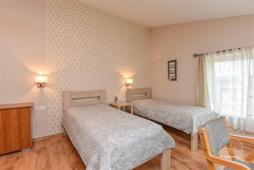 Wspaniały odpoczynek w Połądze, dom gościnny-osiedle 7 sakalai - 15