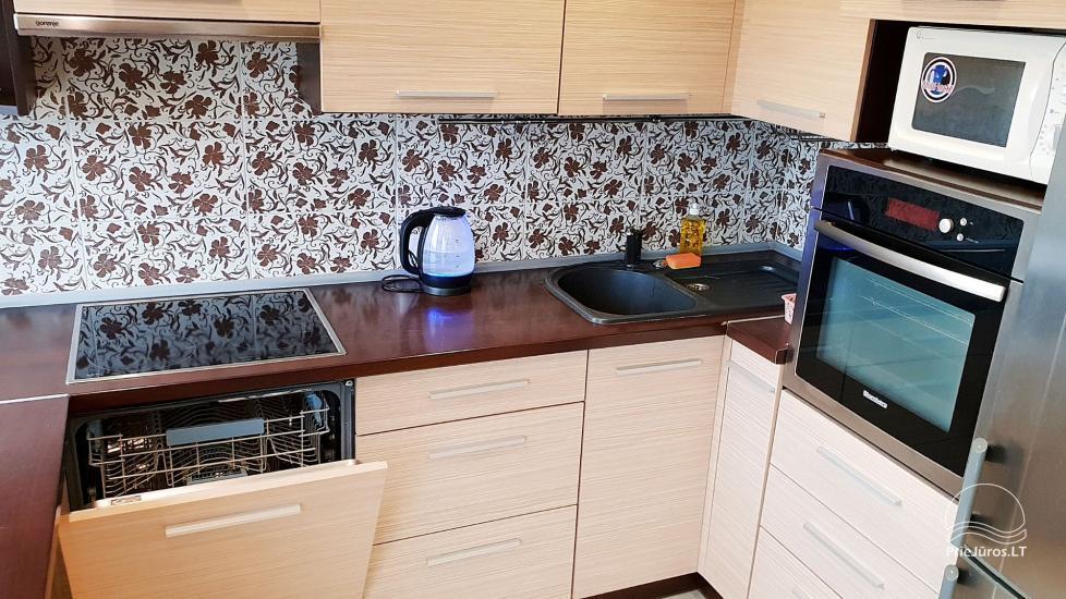 Justinos Vila - nowocześnie urządzone apartamenty do wynajęcia w Połądze - 6