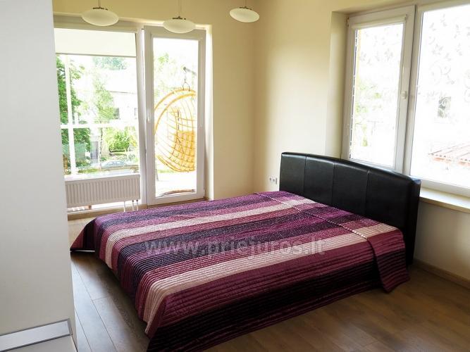 Justinos Vila - nowocześnie urządzone apartamenty do wynajęcia w Połądze - 16