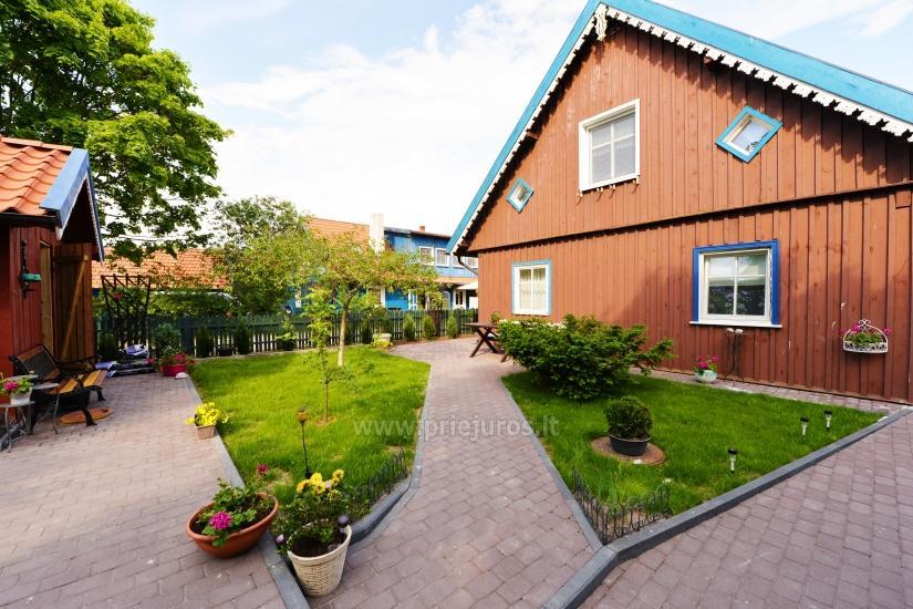 Dwa pokoje mieszkanie w centrum Nidy z kominkiem, bezpłatny parking - 5