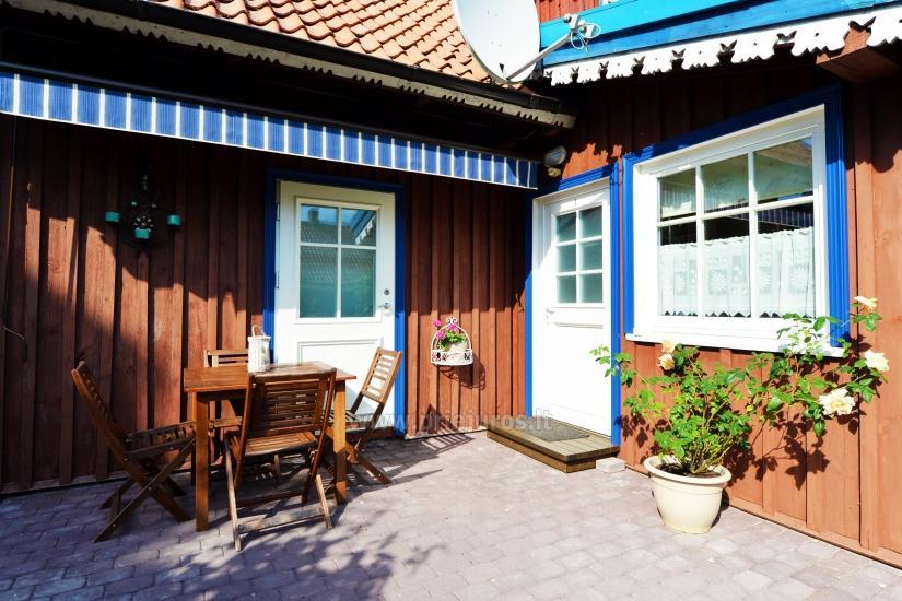Dwa pokoje mieszkanie w centrum Nidy z kominkiem, bezpłatny parking - 6