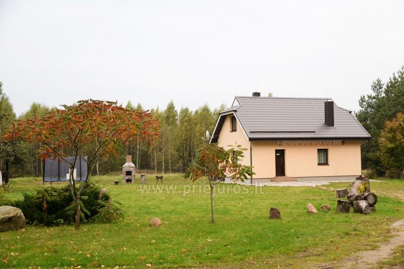 Sauna i zakwaterowanie nad brzegiem stawu w rejonie Kłajpedy - 28