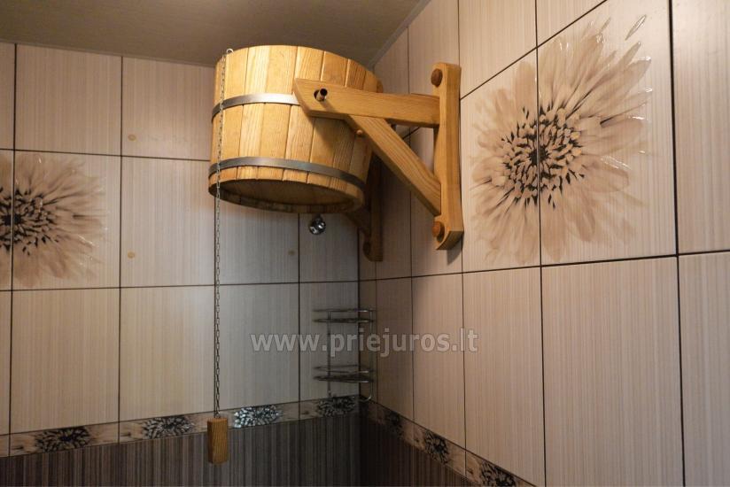 Sauna i zakwaterowanie nad brzegiem stawu w rejonie Kłajpedy - 36