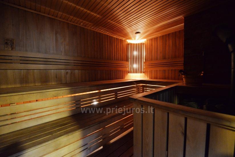 Sauna i zakwaterowanie nad brzegiem stawu w rejonie Kłajpedy - 37