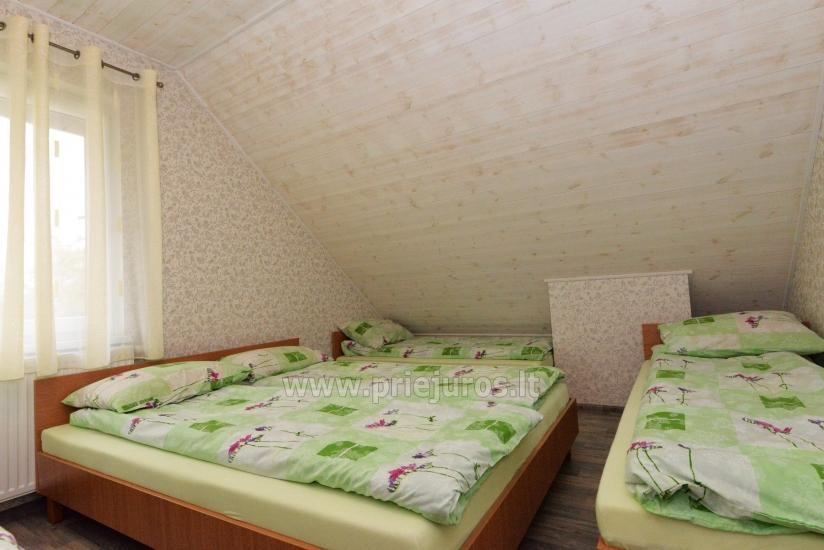 Sauna i zakwaterowanie nad brzegiem stawu w rejonie Kłajpedy - 39