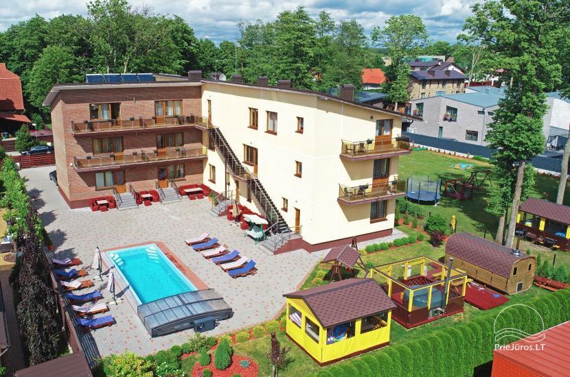 IEVŲ VILA – komfortowe apartamenty i pokoje, szerokie ogrodowe, basen z podgrzewaną wodą - 7