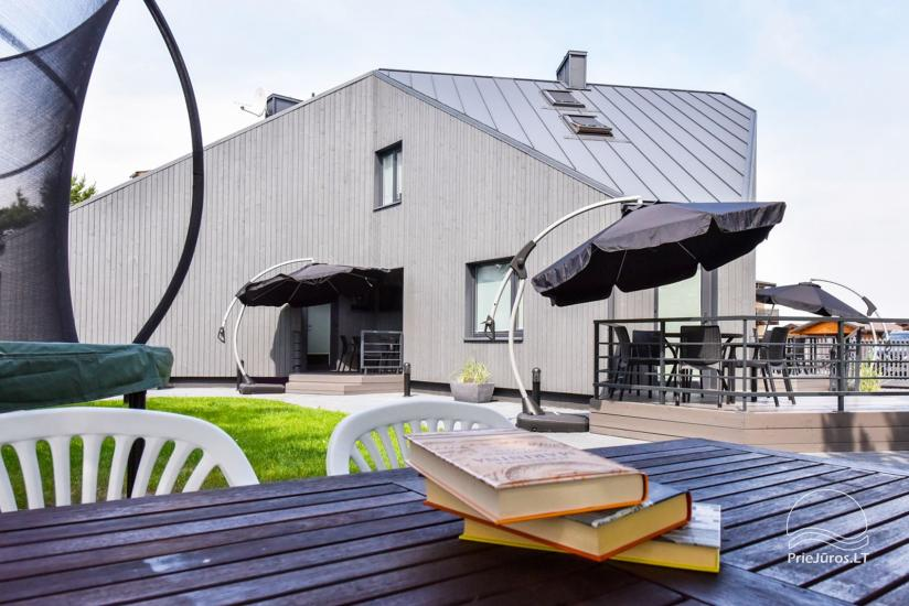 Domki letniskowe i apartamenty do wynajęcia w pobliżu morza w Sventoji - 8