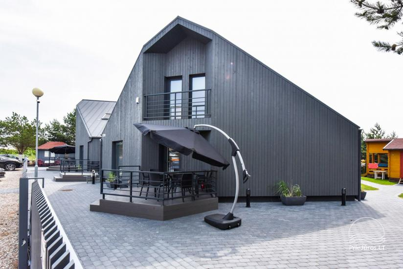 Domki letniskowe i apartamenty do wynajęcia w pobliżu morza w Sventoji - 6