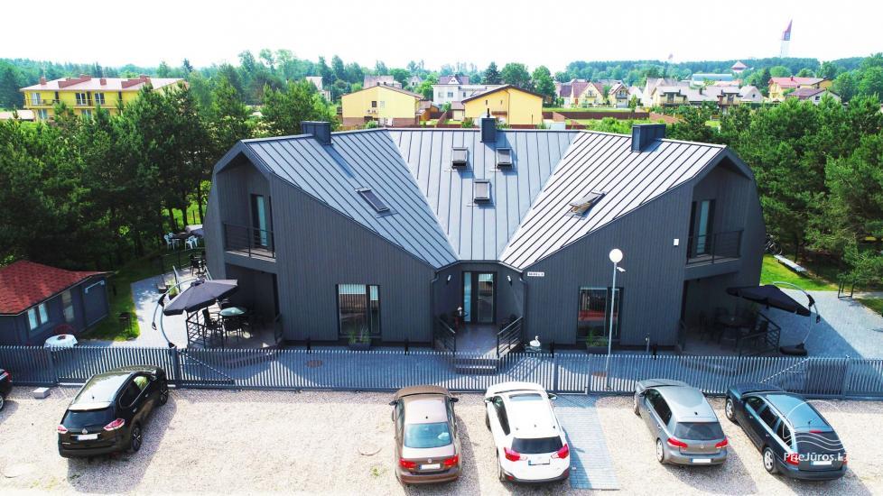 Domki letniskowe i apartamenty do wynajęcia w pobliżu morza w Sventoji - 2