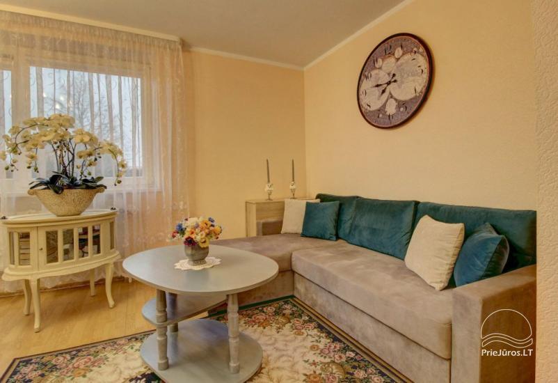 Mieszkania do wynajęcia w prywatnym domu w Połądze. Oddzielne podwórze, grill - 4