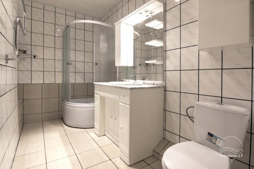Mieszkania do wynajęcia w prywatnym domu w Połądze. Oddzielne podwórze, grill - 8
