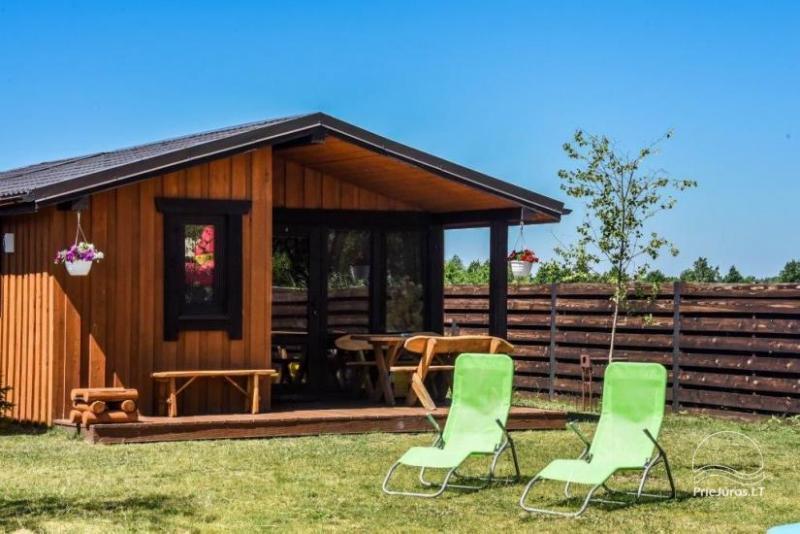 Domy wakacyjne na odpoczynek w Sventoji