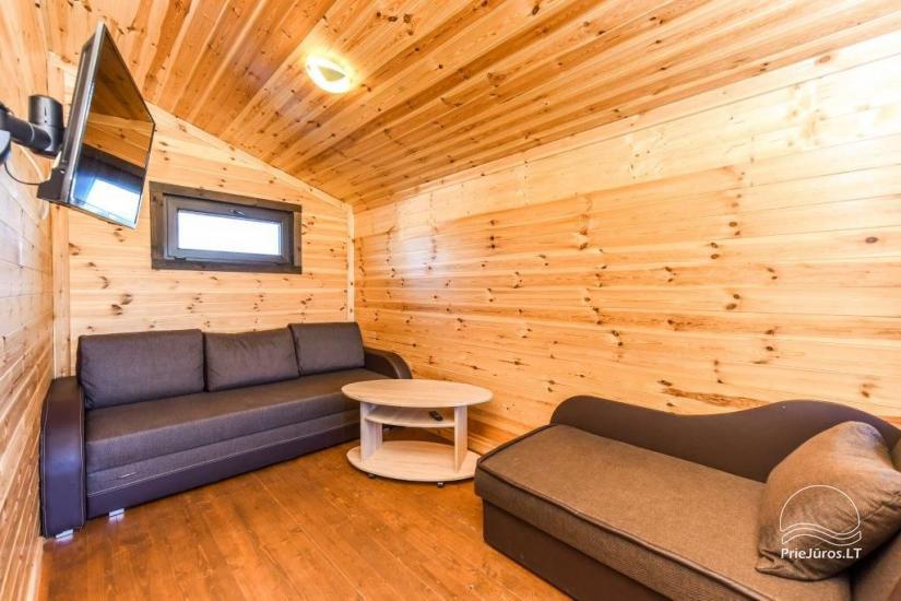 Domy wakacyjne na odpoczynek w Sventoji - 4