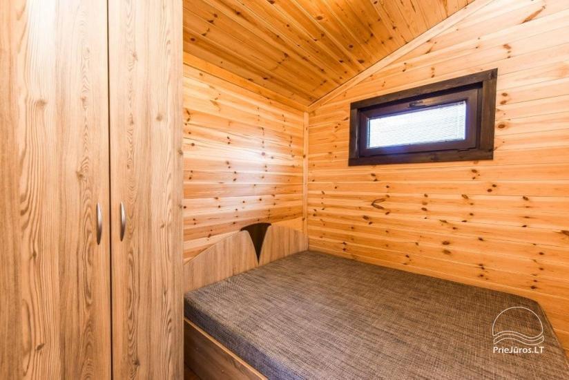 Domy wakacyjne na odpoczynek w Sventoji - 9
