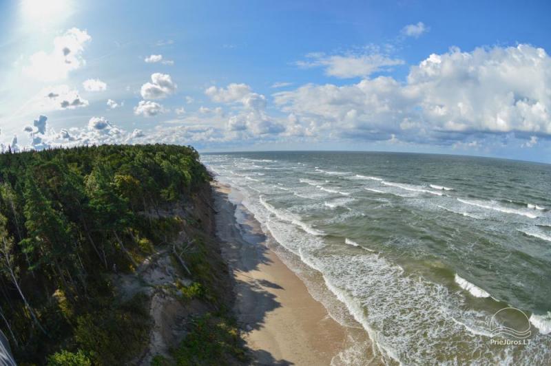 Campingowe i mieszkania do wynajęcia w Karklė, 90m od morza